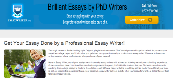 Review about Essaywriter.org Services