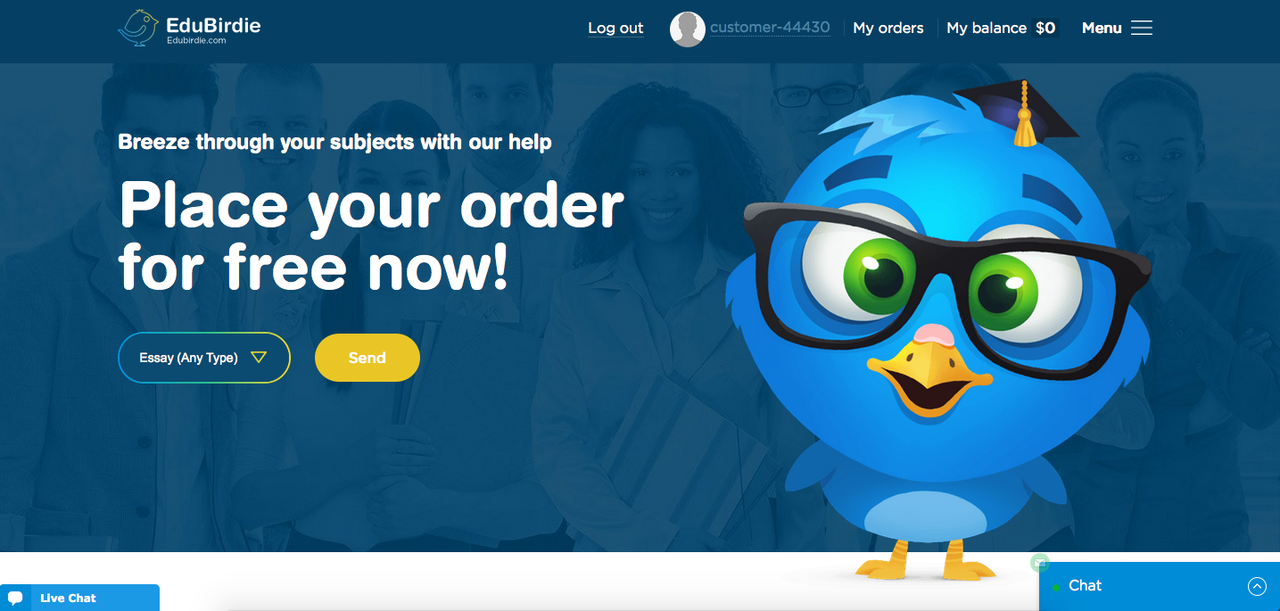Review about EduBirdie.com Services