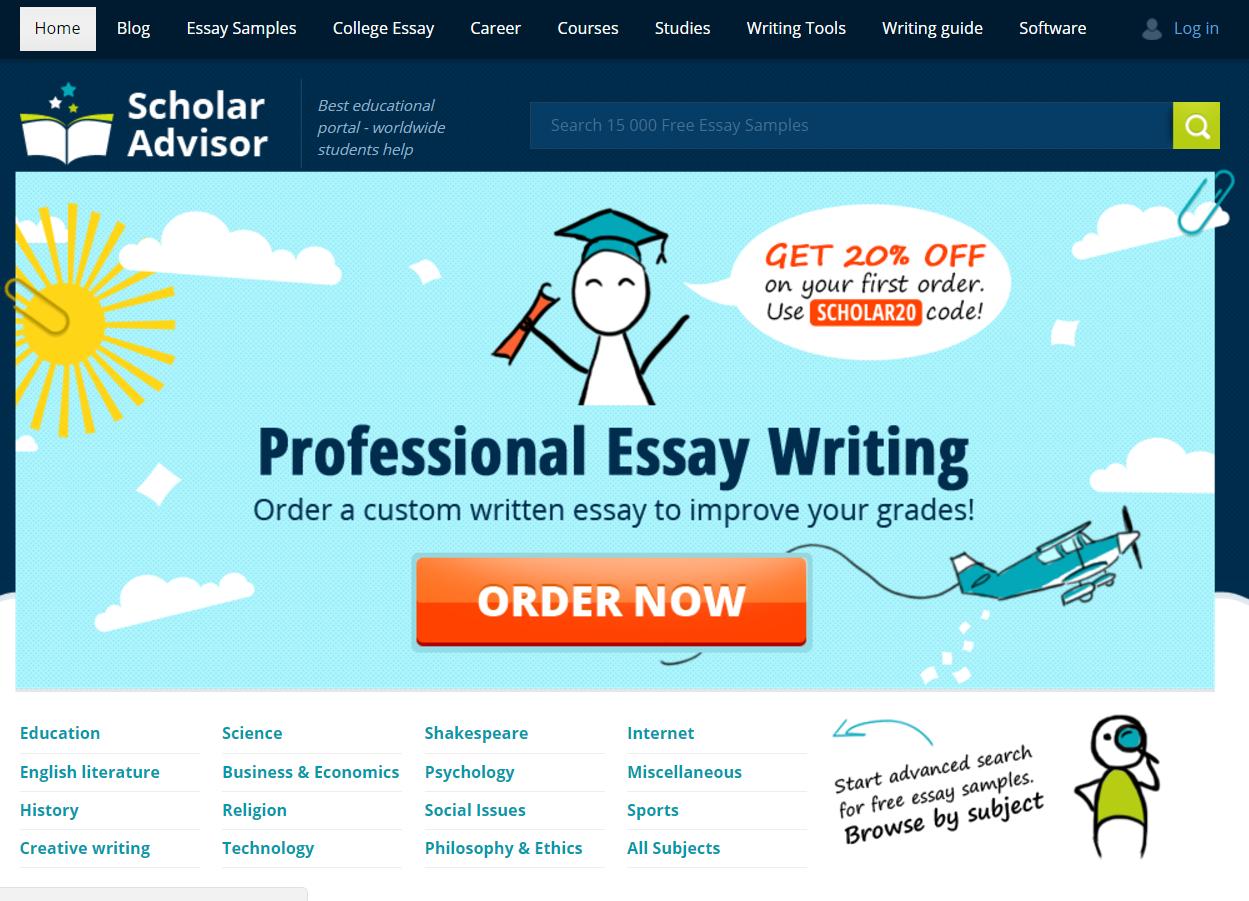 Scholaradvisor com-review
