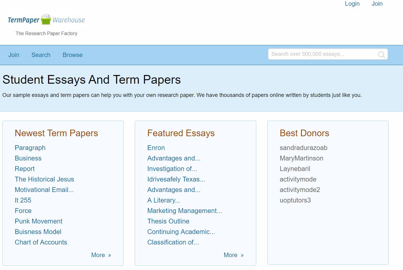 termpaperwarehouse.com-review